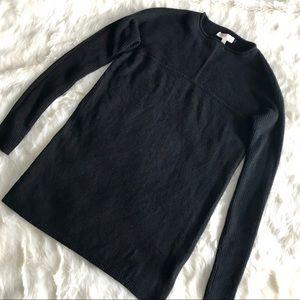Tory Burch Black 100% Cashmere Pullover Sweater